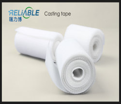 Resistente al agua Light-Weight flexible de fibra de vidrio cintas ortopédico fundido