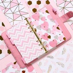 De forma personalizada para Notebook espiral de folhas soltas