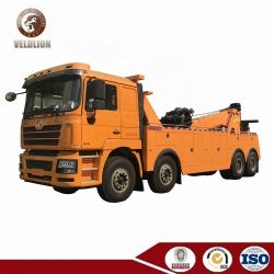 360 Grad-UmdrehungWrecker große 50 Tonnen 60 Tonnen Kran-Schleppseil-LKW-Rotator-Arbeits-Straßen-Block-schwere Wiederanlauf-LKW-für Verkauf