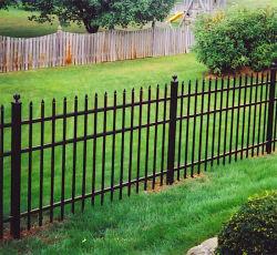 ゲートが付いているアルミニウムに塀のパネル/PVCのコーティングの囲うこと/鋳造の塀