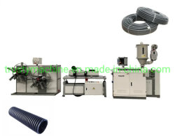 ماكينات طرد/طرد/طرد أنبوب الأنابيب المضلعة PP PP PVC أحادية الجدار