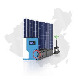 Sistema de energia solar híbrido desligado de grelha de 5500 W para MPPT doméstico SOLUÇÃO DE energia DE FONTE de alimentação DE 100 A. Conversor solar