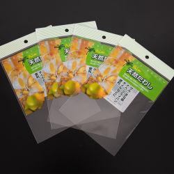 Sacchetti autoadesivi di plastica di Polly OPP della radura di prezzi di fabbrica per l'imballaggio dei calzini