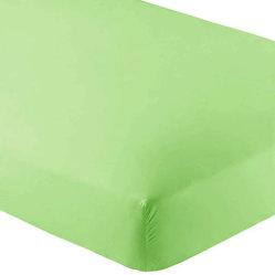 100% die Bambusaufnahmevorrichtung bedeckt das Bambus befestigte Breathable Krippe-Blatt