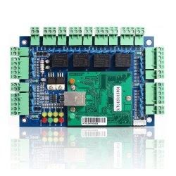 4 أبواب وحدة تحكم الوصول والتحكم في الوصول TCP/IP لوحة التحكم لـ نظام أمان التحكم بالوصول