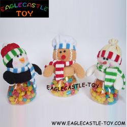Lustige Weihnachtsplüsch-Baby-Spielzeug-Süßigkeit für Weihnachten (CXT13941B)