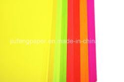 Soberbo Lignine Livre de polpa de madeira artesanais de papel colorido