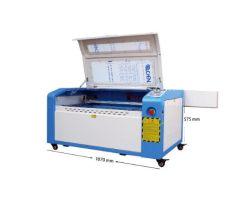 컴팩트한 품질 50W 80W CO2 레이저 커터 및 Engraver 시스템 호비스트
