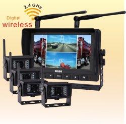 """Kit de stationnement de caméra CCD de secours avec moniteur TFT LCD 7 """"(DF-766M42364)"""