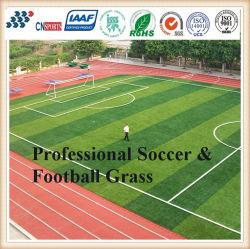 Tappeto erboso artificiale dell'erba per gioco del calcio, corte di tennis, campo da giuoco