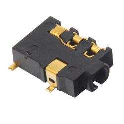 Pj-221 2 5mm fêmea do conector de áudio 5 Pino Telefone SMT entrada DC