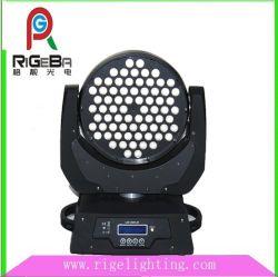 مصابيح LED عالية القدرة 108LED*ضوء مؤشر LED يتحرك للرأس أثناء الغسيل