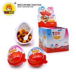 süsse Schokolade des Biskuit-15g und unterschiedliches Spielzeug-Überraschungs-Schokoladen-Ei
