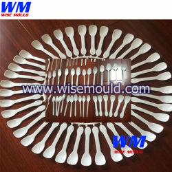 OEM 40/48 las cavidades del molde de inyección de plástico desechable cuchilla horquilla molde cuchara