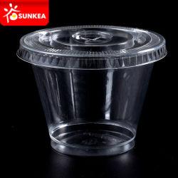 مستهلكة مصغّرة بلاستيكيّة بودنغ/مري/مذاق فنجان مع غطاء