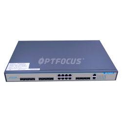 Мини-Size 8 портов OLT Epon Gepon FTTH оптоволоконной линии терминального оборудования
