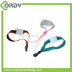 RFID un braccialetto a gettare del tessuto dell'identificazione NFC del wristband di identificazione di volta