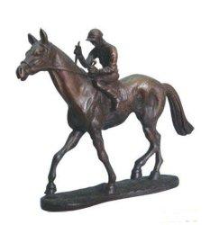 Настраиваемые Бронзовый конь с Райдер