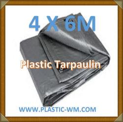 4X6m лист пластика плотный брезент брезент брезент PE