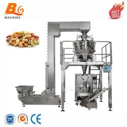 الراسي وجبة خفيفة باستا قشرة الأرز البطاطس رقائق البطاطس الغذاء آلة التعبئة وظيفة متعددة لآلة التعبئة التلقائية
