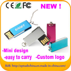 Kundenspezifische Mini-USB-Blinken-Laufwerk-Platte (ED033)