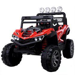 12V Kids Ride on Car Truck UTV giocattolo alimentato a batteria Telecomando per veicoli con certificazione GCC LED bianco luce MP3