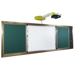 Quadro branco interativo para o ensino e o Office