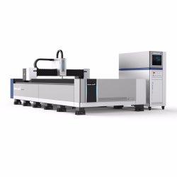 Manhã de 2020 Novo Projeto 1000W 3KW 6 kw 8 kw chapa metálica chapa CNC e tubo tubo Raycus Corte máquina de corte de fibra a laser para venda a quente 3015 1530