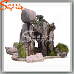 Decoration Artificial Outdoor Fountain Water Fiberglass Fountain