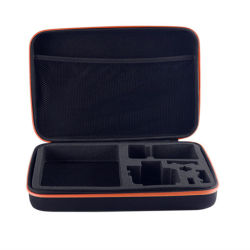 Estojo para câmera Gopro e acessórios, acolchoado de espuma Maleta protegidos e o saco organizada, Viagens Câmera Digital Bag13156 ESG