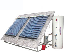مسخن المياه بالطاقة الشمسية من الأنبوب الحراري