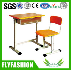 Высокое качество литые студенческого совета письменный стол со стулом (SF-11S)