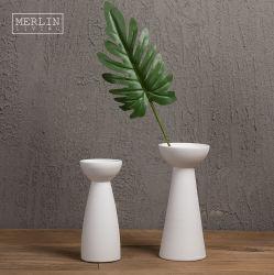 도쿠리 모양의 수제 도자기 꽃병 홈 장식 독특한 디자이너 테이블 Vases 홈 장식을 위한 꽃병 세트