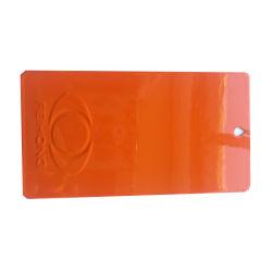 静電気のスプレーの透過明確で赤い上塗りの粉のコーティング