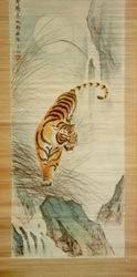Bambuskunst-Abbildung