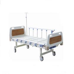 Zwei Krankenhaus-Bett-Multifunktionselektrische des Funktions-manuelle Krankenhaus-Bett-ICU