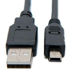 USB 2.0 a ad un mini cavo di 5 dati di Pin