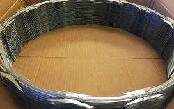 Fio Navalha-acordeão com abraçadeiras Tipo Navalha Cruz&único fabricante China 5kg/Roll
