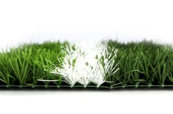 Umweltfreundlicher 50mm Chemiefasergewebe-Rasen-künstliches Gras für Fußball Fieids