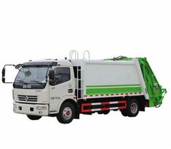 Dongfeng 8m3 10t 폐기물 압축 트럭