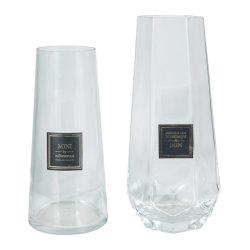 Elegante e a buon mercato, a mano piccolo medio grande ufficio scrivania Top Portafiori Nordic Coloured vetro trasparente flacone vaso in vetro
