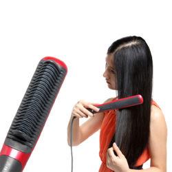 Piastra per capelli con attrezzatura al sale viola wireless più diffusa