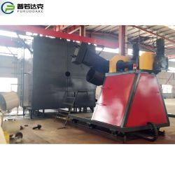 플라스틱 제품 두 개의 암을 만드는 셔틀 로토 몰딩 머신 인 중국