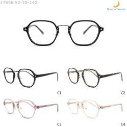 2020 Luz Anti-Blue clássico retro óculos de acetato de estrutura óptica prontos para envio para as mulheres