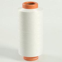 Hohes Nylon-DTY Garn des Hartnäckigkeit-Torsion-SZ gefärbtes weißes Nylon-6 DTY 100% für Socken