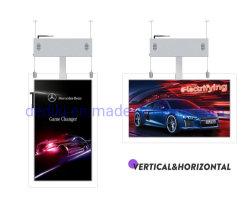 43/49/55 Zoll doppelseitiges LCD-Display mit Schaufenster Digital Beschilderung Werbung
