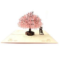 Pop Kaart van de Groet van de Dag van de gepersonaliseerde Met de hand gemaakte van de Groet Valentijnskaart van de Kaart