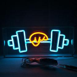 AcrylÄhnliches Glasgefäß-Neonzeichen des kasten-LED für Verkauf