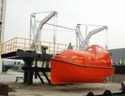 Type de bras de la gravité de sauvetage Luffing Davit Lifeboat Davit