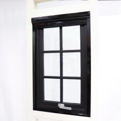 Painel de vidro duplo de alumínio Tophung Windows com grade
